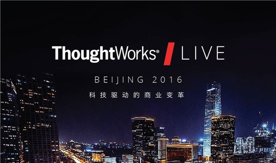 2016 ThoughtWorks LIVE China