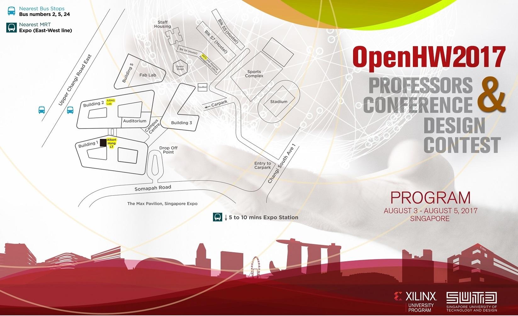 OpenHW2017 Design Contest & Professors Conference