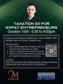 Taxation 101 For Expat Entrepreneurs