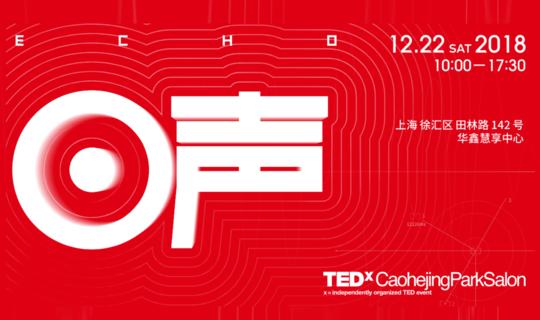 "TEDx漕河泾 "" 城市2.0:回声 """
