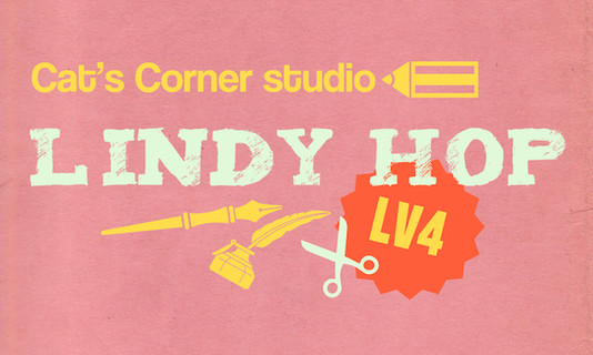 Lindy Hop Level 4|林迪舞进阶课程 周四班 03.28(小班课限14人)