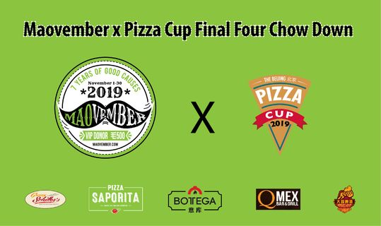 Maovember x Pizza Cup Final Four Chow Down