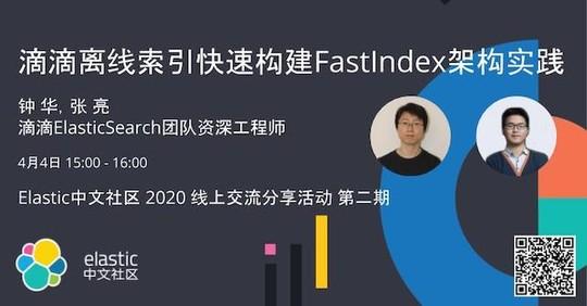 第二期:滴滴离线索引快速构建 FastIndex 架构实践