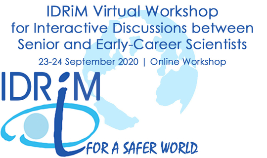 IDRiM Virtual Workshop for Interactive Discussions between Senior and Early-Career Scientists