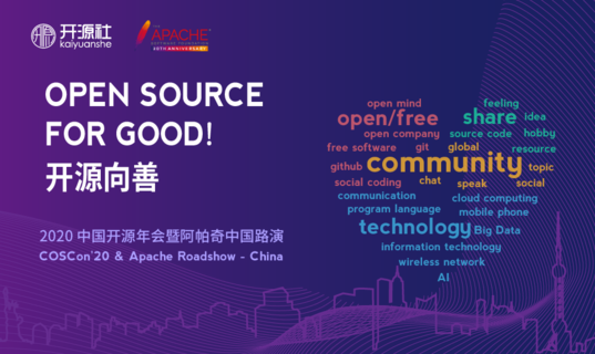 2020 China Open Source Conference (COSCon'20) & Apache Roadshow China