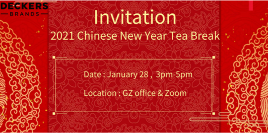 Tea Break Invitation